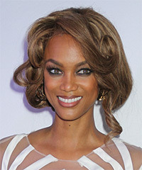 Tyra Banks - Updo Long Curly
