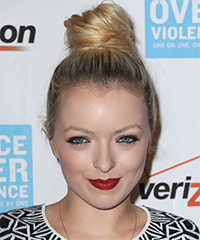 Francesca Eastwood - Updo Long Straight Casual