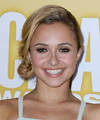Hayden Panettiere - Updo Long Wedding