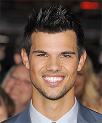 Taylor Lautner Hairstyle - click to view hairstyle information