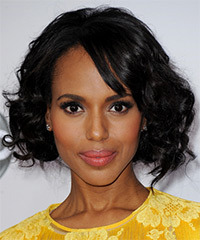 Kerry Washington - Curly Bob