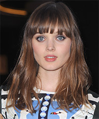 Bella Heathcote Hairstyle - click to view hairstyle information