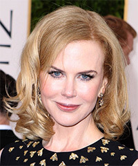 Nicole Kidman - Wavy Bob