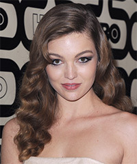 Lili Simmons Hairstyle - click to view hairstyle information