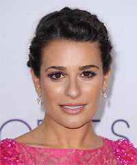 Lea Michele - Updo Long Braided