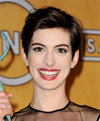Anne Hathaway Hairstyle - click to view hairstyle information