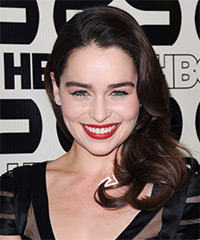 Emilia Clarke Hairstyle - click to view hairstyle information