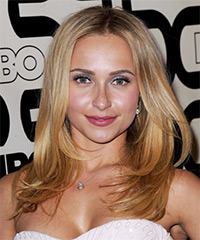 Hayden Panettiere Long Straight Casual