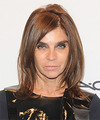 Carine Roitfeld Hairstyles