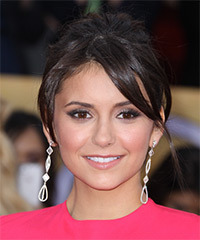 Nina Dobrev - Updo Long Straight