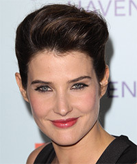 Cobie Smulders Hairstyle - click to view hairstyle information