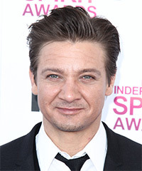 Jeremy Renner Hairstyle - click to view hairstyle information