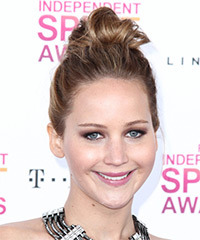 Jennifer Lawrence - Updo Long Straight