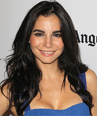Martha Higareda Long Straight Casual