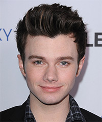 Chris Colfer Hairstyle