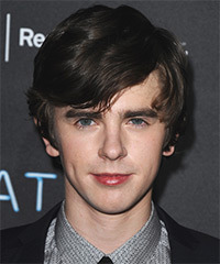 Freddie Highmore Hairstyle - click to view hairstyle information