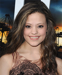 Sarah Jeffery Hairstyle - click to view hairstyle information