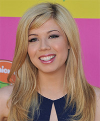 Jennette McCurdy Hairstyle - click to view hairstyle information