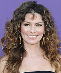 Shania Twain Hairstyle - click to view hairstyle information