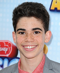 Cameron Boyce Hairstyle - click to view hairstyle information