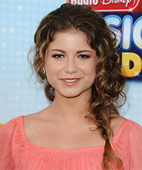 Sofia Reyes  - Half Up Long Braided