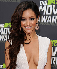 Melanie Iglesias Hairstyle - click to view hairstyle information
