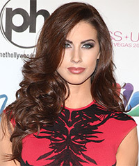 Katherine Webb Hairstyle - click to view hairstyle information