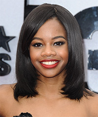 Gabrielle Douglas Hairstyle - click to view hairstyle information