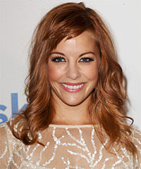 Amy Paffrath Long Wavy Casual