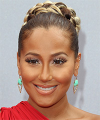 Adrienne Bailon - Updo Long Straight