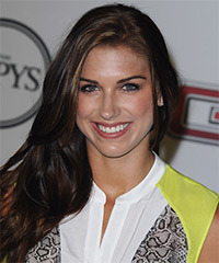 Alex Morgan Hairstyle - click to view hairstyle information