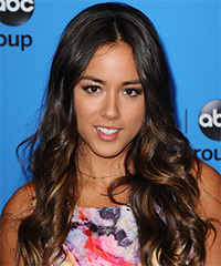 Chloe Bennet Hairstyle - click to view hairstyle information
