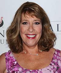Phyllis Logan Hairstyle - click to view hairstyle information