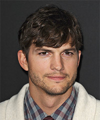 Ashton Kutcher - Short Straight