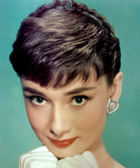 Audrey Hepburn Hairstyle - click to view hairstyle information
