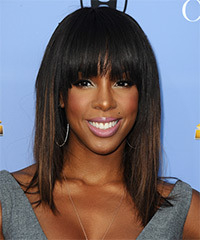 Kelly Rowland Hairstyle - click to view hairstyle information