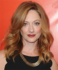 Judy Greer Medium Wavy Formal