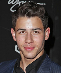 Nick Jonas Hairstyle