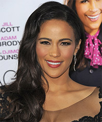 Paula Patton Long Wavy Formal
