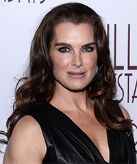 Brooke Shields Hairstyle - click to view hairstyle information