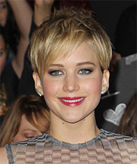 Jennifer Lawrence - Straight Pixie