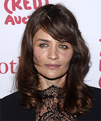 Helena Christensen Hairstyle - click to view hairstyle information