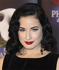Dita Von Teese Hairstyle