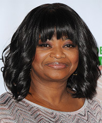 Octavia Spencer Hairstyle - click to view hairstyle information