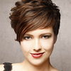 Short Wavy Formal Hairstyle - click to view hairstyle information