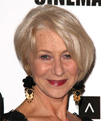 Helen Mirren Hairstyle - click to view hairstyle information