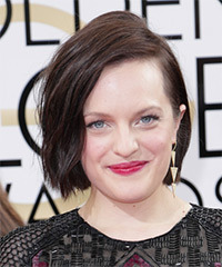 Elisabeth Moss - Short Straight