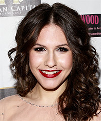 Erin Sanders Medium Curly Formal