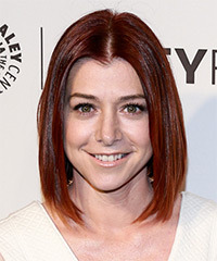 Alyson Hannigan - Medium Straight