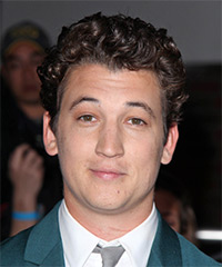 Miles Teller - Curly